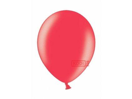 "Metalický balón 12"" cherry red 6ks v balení"