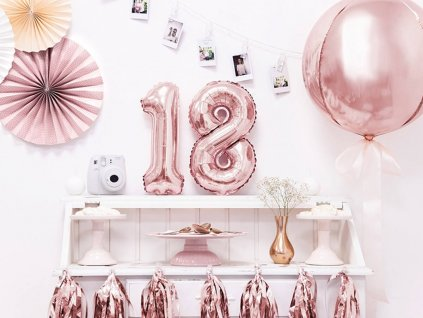 eng pl Mini Shape Number 1 Pink Foil Balloon 35 cm 1 pc 34021 2