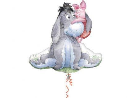 Fóliový Balón Winnie the Pooh Eeyore&Piglet 76x78cm