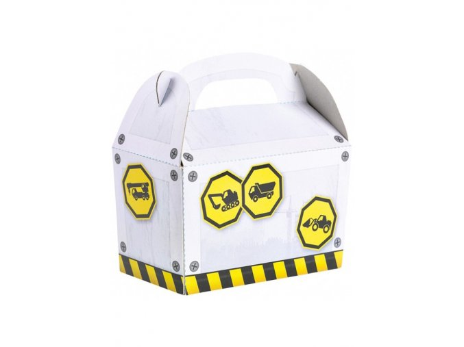 Krabičky na drobnosti Staviteľ 4ks v balení