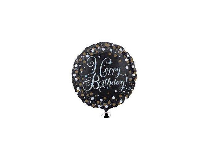 18 inch es happy birthday sparkling szuletesnapi folia lufi n3406201