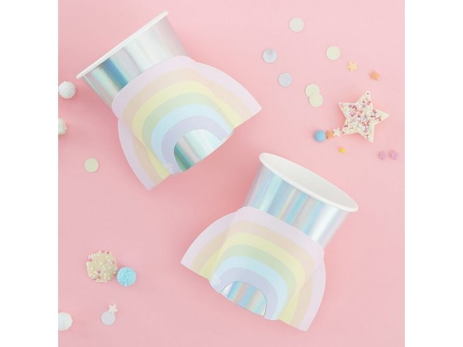 ps 560 rainbow shaped cup