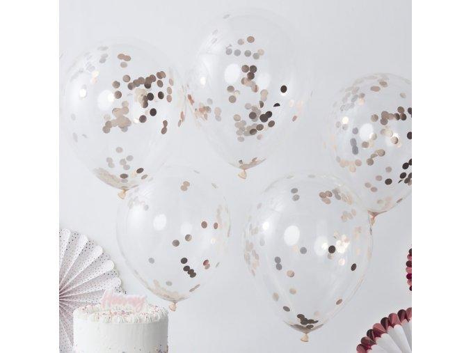 pm 336 rose gold confetti balloon min
