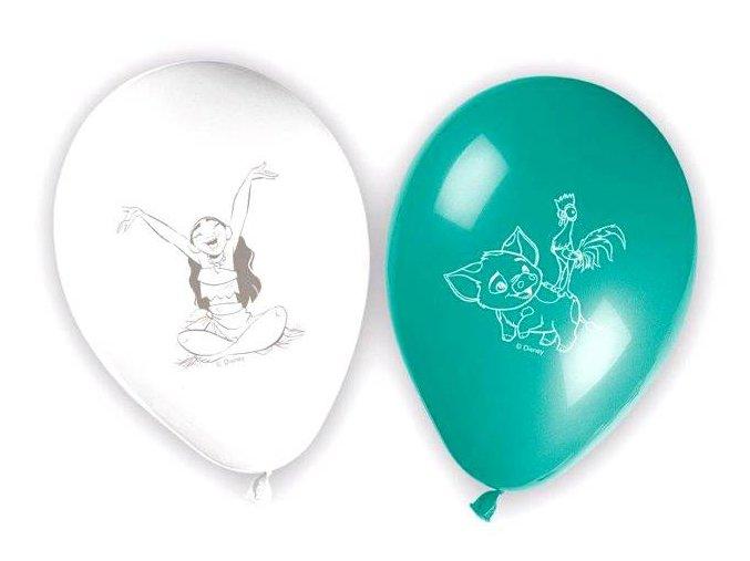eng pl Moana latex balloons 28 cm 8 pcs 25027 2