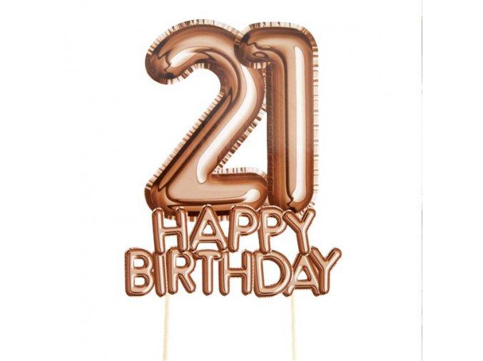 Birthday Topper GLTZCTOP21 v1 lg