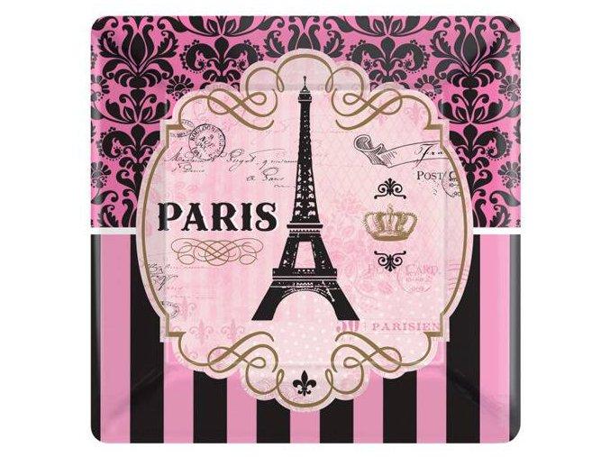 eng pl Plates A Day In Paris squared paper 25 cm 8 pcs 27156 1