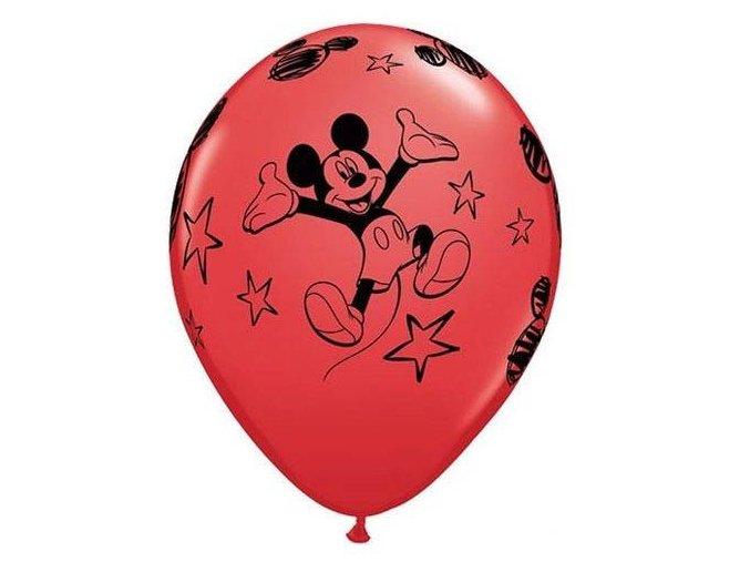 eng pl Mickey Mouse latex balloons 30 cm 6 pcs 21370 1