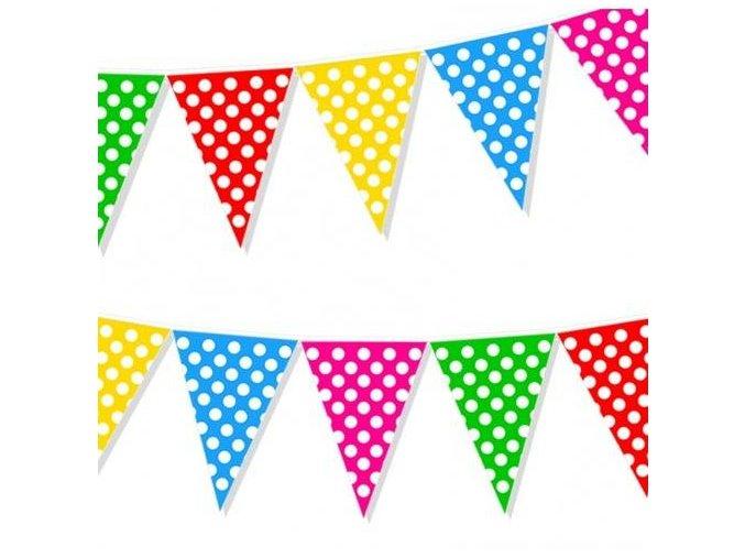 eng pl Multicolor dots flag banner 2 m 1 pc 27339 1
