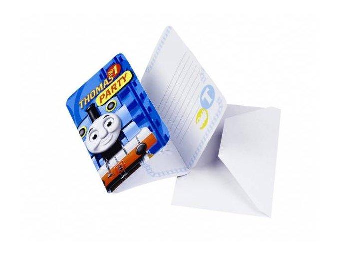 eng pl Thomas Friends Invitations Envelopes 6 pcs 6425 2