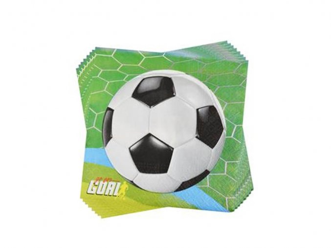 eng pl Lunch napkins Football 33 cm 20 pc 39838 1