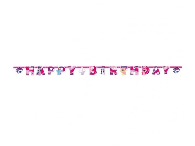 eng pl My Little Pony Letter Banner 200 cm 1 pc 30613 2