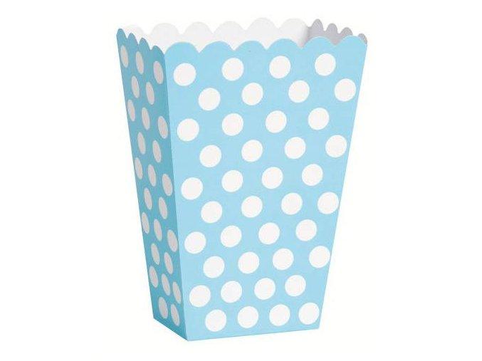 eng pl Powder blue dots treat boxes 8 pcs 21489 2