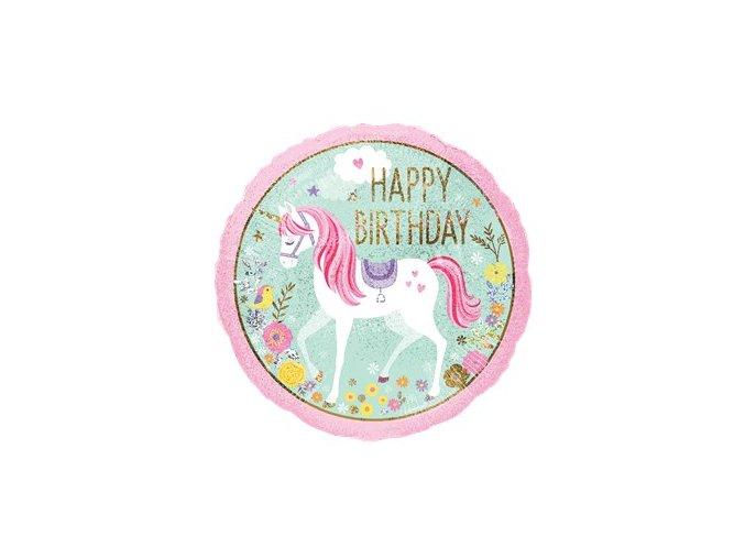 Balón Jednorožec unicorn 45cm