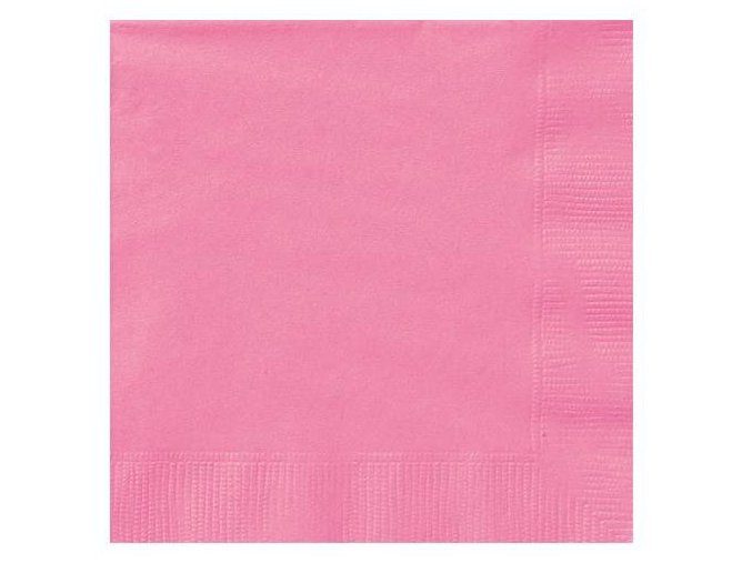 eng pl Hot Pink Lunch Napkins 33 cm 20 pcs 25539 2