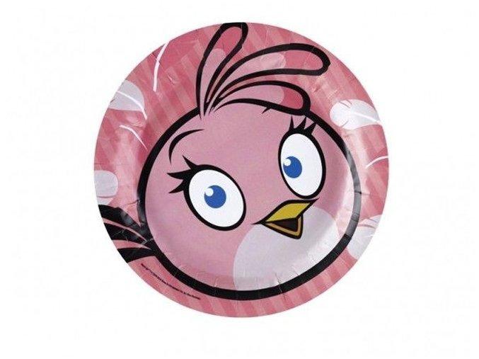 Tanier Angry Birds pink  8ks v balení