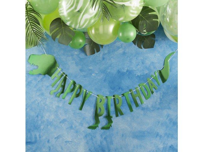 RR 305 Dinosaur Happy Birthday Bunting 2