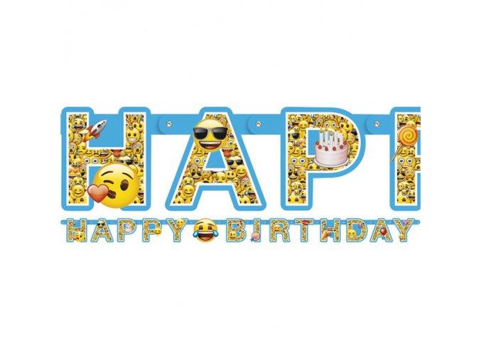 baneer happy Birthday Smiley
