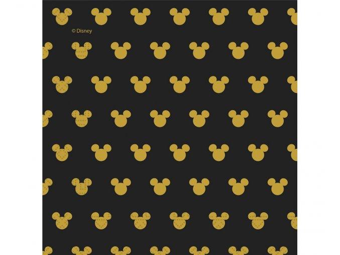 serwetki papierowe mickey gold 33 x 33 cm 20 szt