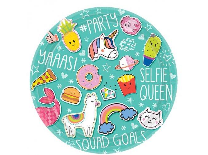Tanier Unicorn selfie 8ks