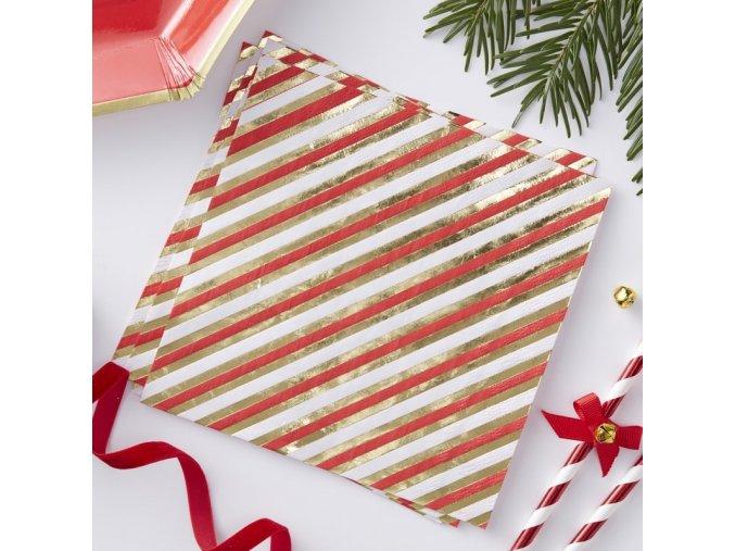 rg 321 candy cane striped paper napkin v2 min