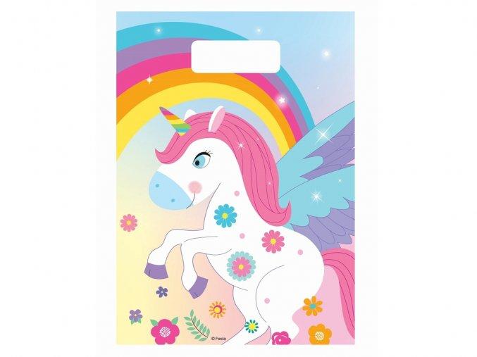 eng pl Rainbow Unicorn Loot bags 6 pcs 32568 1