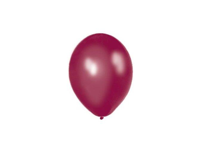 "Latexovy balón 12"" slivkova metalicka 1ks v balení"