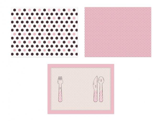 Papierové podložky Sweet 40x30cm