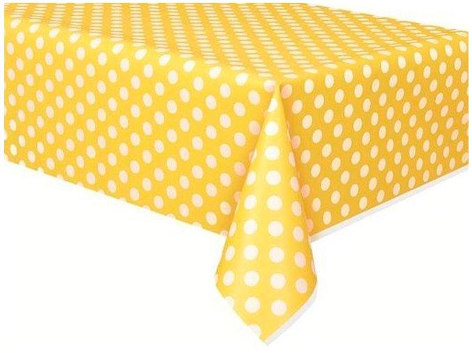 Obrus BODKA žltý 137x274cm