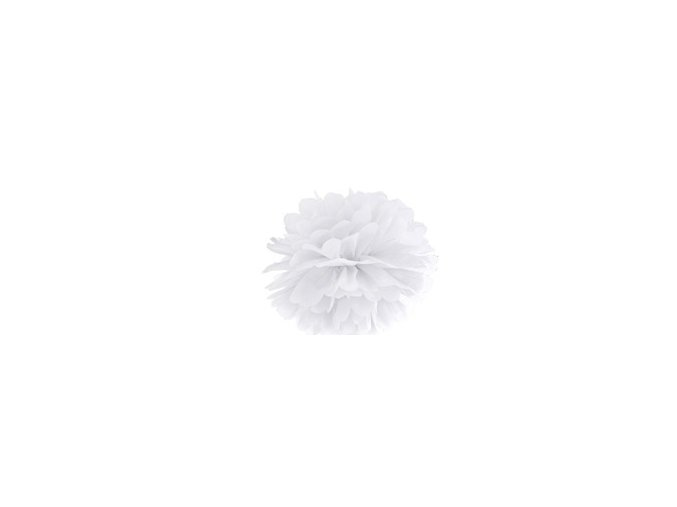 Pompon biely 35cm