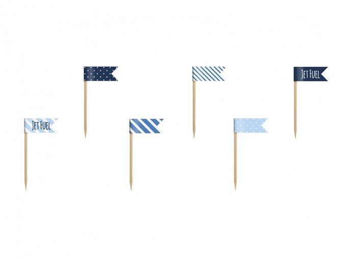 Vlajky na Mafinky Little Plane 6ks v balení