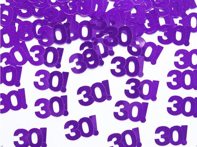Konfety s číslom 30