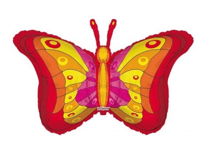 Fóliový balón Motýľ 90cm