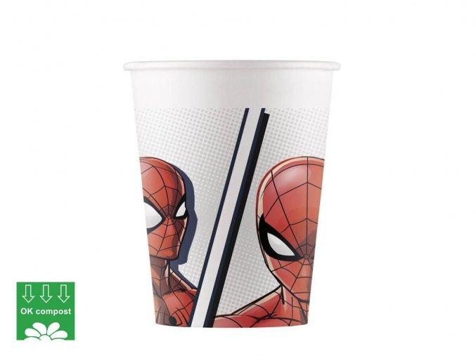 eng pl Paper cups Spiderman 200 ml 8 pcs 42744 1 (1)