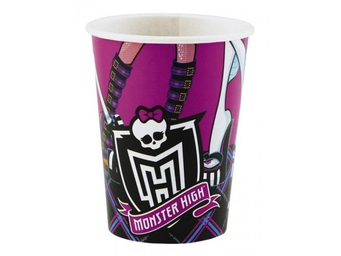 Pohár Monster High 250ml, 8ks v balení