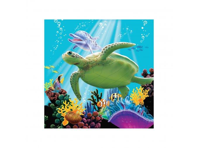 Servítky Ocean Nemo a Dory 16ks v balení