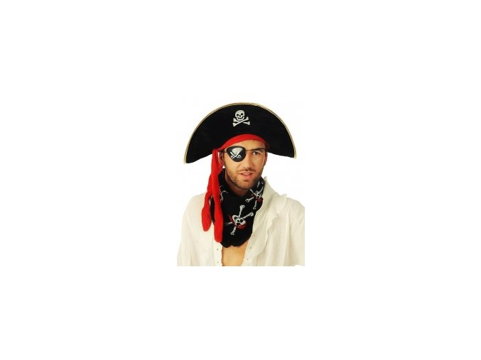 Pirátska klapka na oko