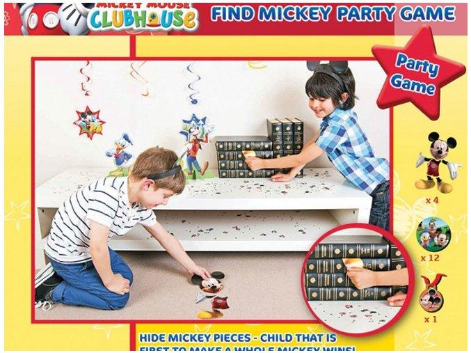 Hra Nájdi Mickeyho