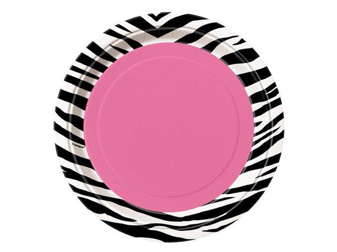 Tanier Zebra party 8ks v balení