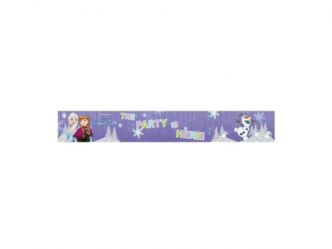 eng pl Foil Banner Frozen Snowflakes 1 pc 25014 1