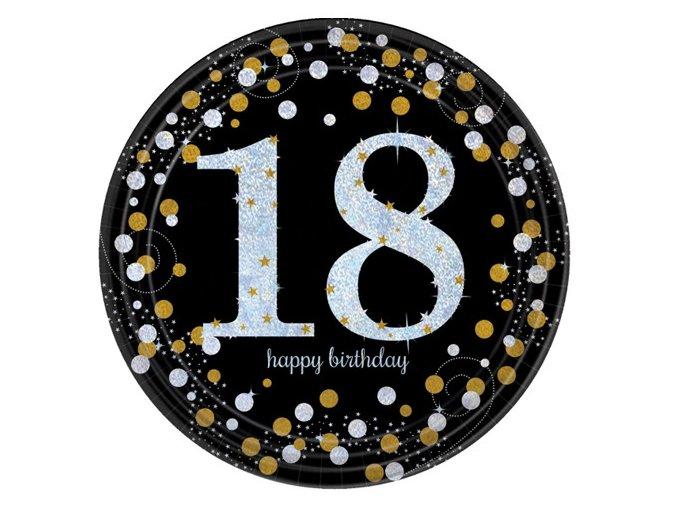 "Tanier Happy Birtdhay Gold ""18"""