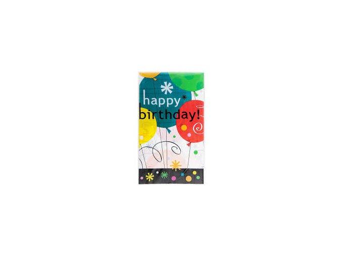 Obrus Breezy Birthday 1,37x2,13m