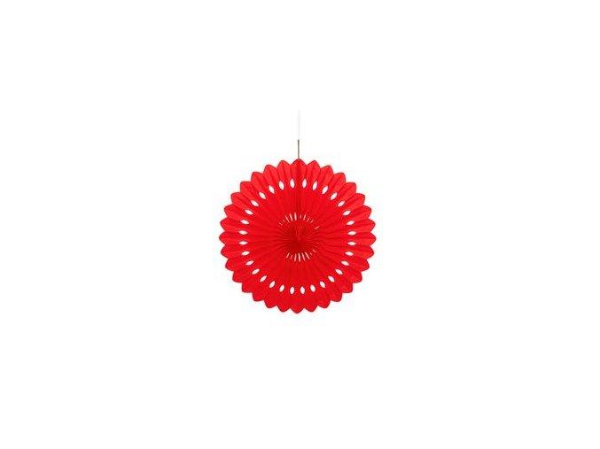 Visiaca rozetka červená 1ks