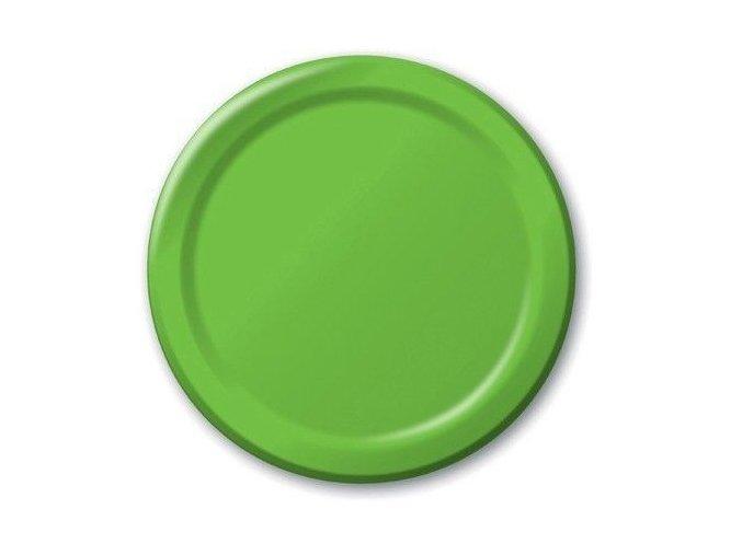 Tanier zeleno limetková 17,1cm 8ks v balení