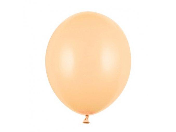 "Latexový balón 12"" pastelovo broskyňová 1ks v balení"