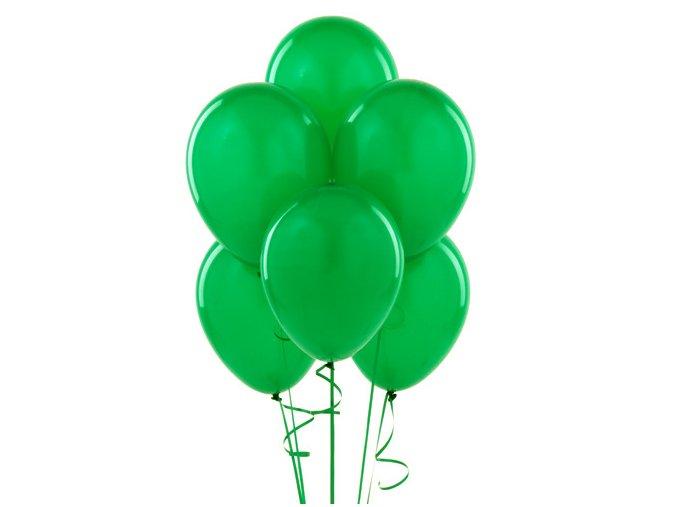 """Latexový balón 14"""" zelená 1ks v balení"""