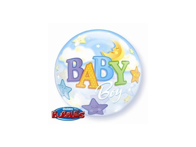 Fóliový balón Baby boy 56cm
