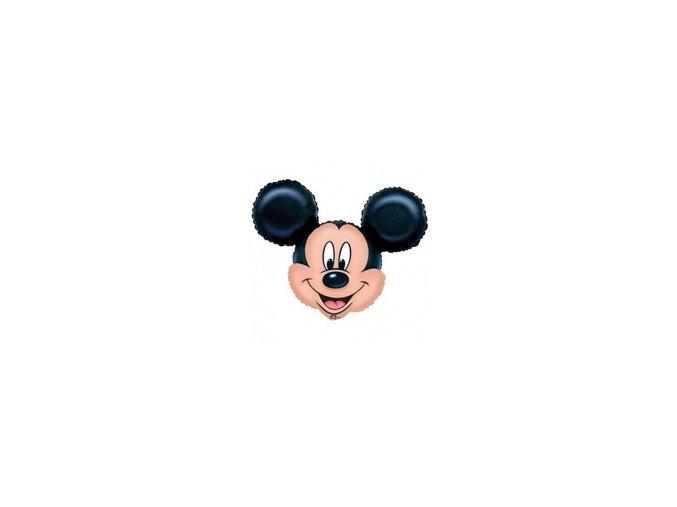 Fóliový balón clubhause Mickey hlava 69x53cm