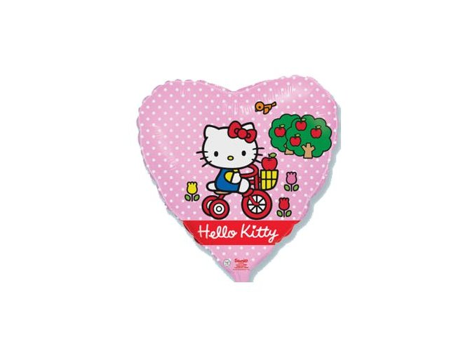 Fóliový balónsrdce Hello Kitty 46cm