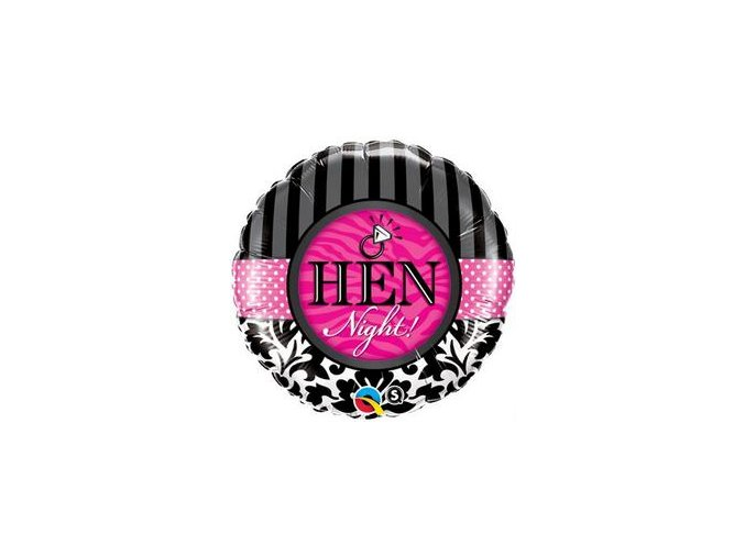 Fóliový balón Hen Night! 46cm