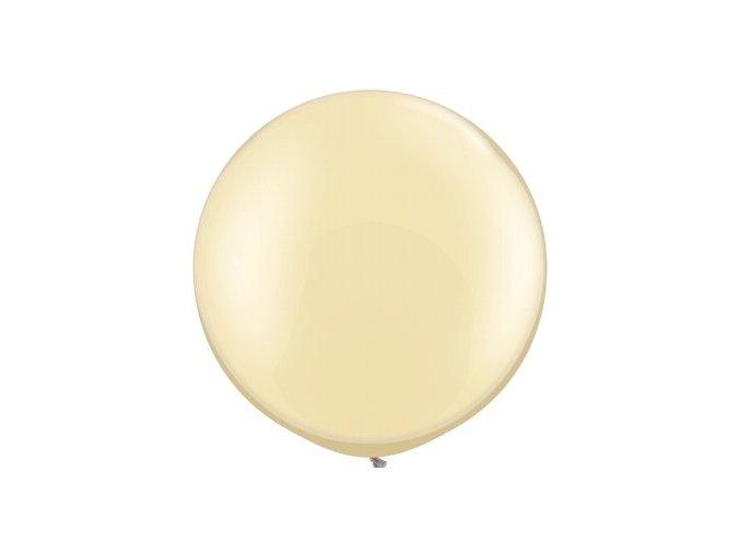 Jumbo latexový balón Ivory 75cm